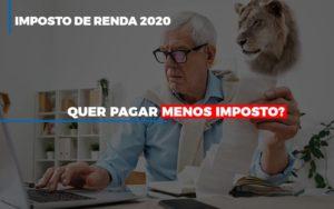 Imposto De Renda 2020 - O Contador Online