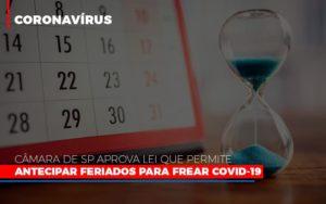 Camara De Sp Aprova Lei Que Permite Antecipar Feriados Para Frear Covid 19 - O Contador Online