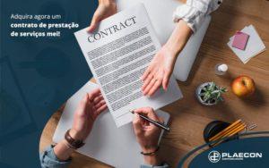 Adquira Agora Um Contrato De Prestacao De Servicos Mei Post (1) - O Contador Online