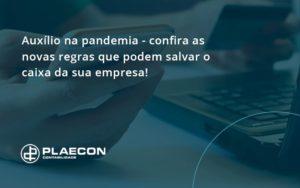 Auxilio Na Pandemia Confira As Novas Regras Que Podem Salvar O Caixa Da Sua Empresa Plaecon - O Contador Online