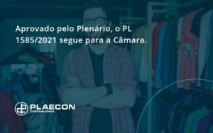 Aprovado Pleno Plenario O Pl 15852021 Segue Para A Camara Plaecon Contabilidade - O Contador Online