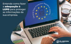 Entenda Como Fazer A Adequacao A Lgpd Para Proteger Informacoes Da Sua Empresa Blog - O Contador Online